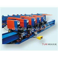 Five Header Vertical Rebar Bender Machine / Milling Machine