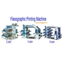 Flexogarphic printing machine