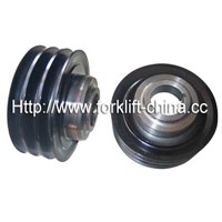 Foklift Parts TD27 Crankshaft Pulley for Nissan