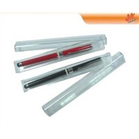 For ipad, mobile phone 2in1 capacitive touch screen stylus pen with ball point pen