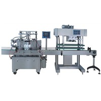 Full-automatic self-suction type piston filling machine
