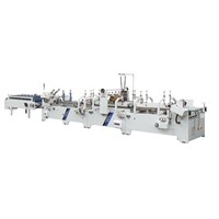 GDHH-800/1200/1300 Pre-folded & Lock-bottom Automatic Folder Gluer
