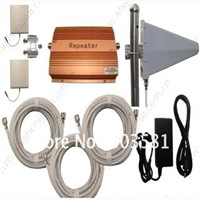 GSM990 900HMZ mobile phones signal repeaters with panel antenna out door antenna