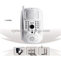 GSM/GPRS Alarm System Multifunctional GSM MMS Alarm System with Night Vision Camera (CJ-818M6E)