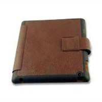 Genuine Case for iPad, Made of Genuine Leather Surface and Frizzled Feather Inner Materials