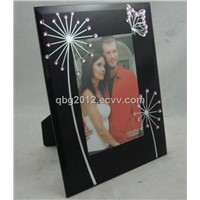 Glass Mirrored Photo Frame and picture frame