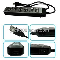 High Speed 7 Ports USB 2.0 Hub