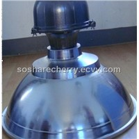 High bay fixture with 300W induction lamp 1mm mirror reflector