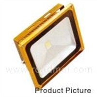 High brightness LED flood light 50W gold yellow color