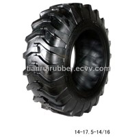 High performance of skid steer tyre size 14-17.5 fit Bobcat loader  and CASE loader