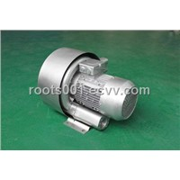 High pressure exhaust blower
