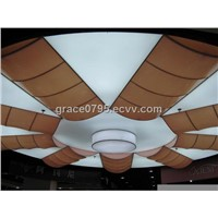 High quality low price 5m satin white PVC stretch ceiling film factory supply