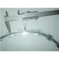 High qulity&best price galvanized razor barbed wire