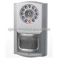 Home Burglar Alarm -CJ-818M3F (2 IN 1) GSM Alarm System with Built-In PIR Sensor / Alarm Sensor