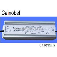 Hot sale 150W waterproof LED Driver power supply IP68 LD639 Cainobel CE FCC RoHs UL