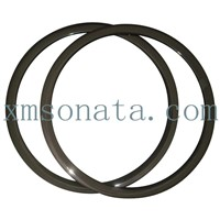 Hot sell 38mm tubular Bicycle Rims 3K matte
