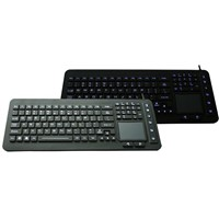 IP68 Industrial Silicone Keyboard with Backlight (X-TP101SD)