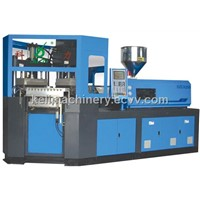 Injection blowing moulding machine
