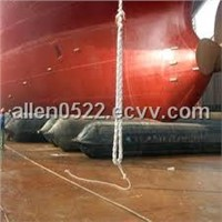 Intense pneumatic airbag for ship launching/landing
