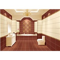Interior Rustic Leather Ceramic Wall Tile  (RA36061+RT36062)
