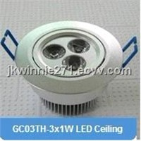 LED Ceiling Lights, 3W, waterproof led light