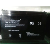 Lead-acid battery 12V100AH/20HR
