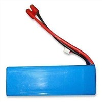 Li-polymer Battery Pack for Model Plane, with 5,000mAh Nominal Capacity and 11.1V Voltage