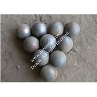 Low chrome alloyed cast ball
