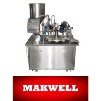 Manual Tube Filling Sealing Machine
