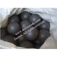 Medium chrome alloyed cast ball