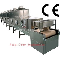 Microwave drying & sterilization machinery for meat floss