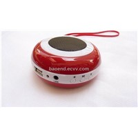 Mini Stereo Speaker Sound box For MP3/MP4/CD player/PC/iPod/MD Rechargeable 30pcs/Lot TLS-040