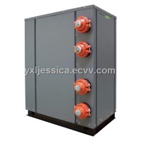 Modular ground source residential heat pump