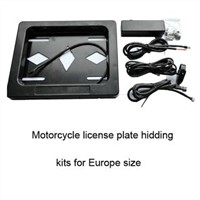 Motorcycle License Plate Frame for Europe Size