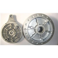 Motorcycle rear wheel hub BAJAJ BOXER