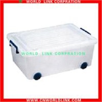 Multifunctional Plastic Wheel Storage Box