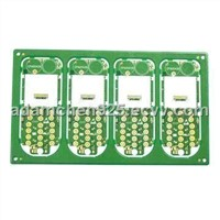 Multilayer PCB for Mobile Phone Use, Made of FR-4 Material, Laminate Thickness of 15-mil
