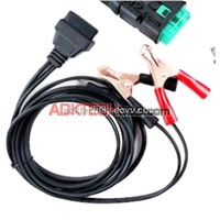 OBD 16pin to car battery Clamp Cable about 3M