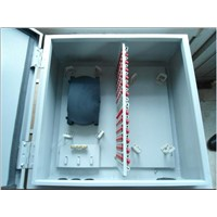 Outdoor Cold rolled steel wall-mounted fiber optical distribution box