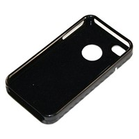 PU with PC case for iPhone 4