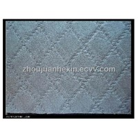 PVC car mat leather