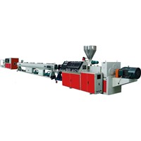 PVC pipe extruder machine