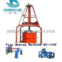 Pipe Making Machine / Pipe Machine (DONGYUE QT-120T)