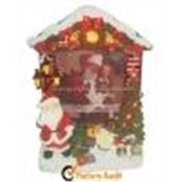 Polyresin Christmas LED Photo Frames