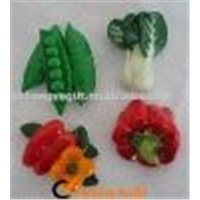 Polyresin Vegetable Fridge Magnets