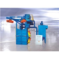 Q37 series overhead rail spinner hanger shot blasting machine