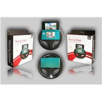 Racing wheel for 3DS console