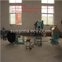 Razor wire mesh machine