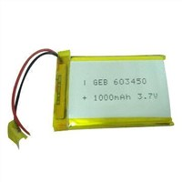 Rechargeable Lithium-ion Battery for Mobile Phone, 0.5A Charge Current and 3.7V Nominal Voltage