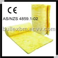 Roof construction materials glass wool